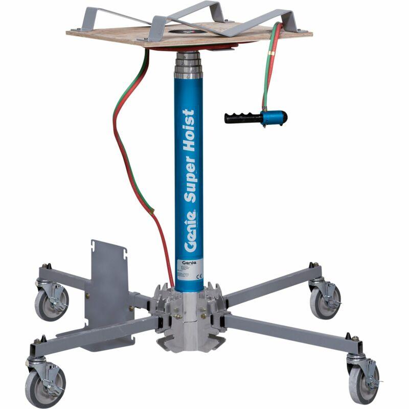 Genie Super Hoist Material Lift-300-lb Load Cap 12ft 5 1/2in Lift Height #GH 3.8