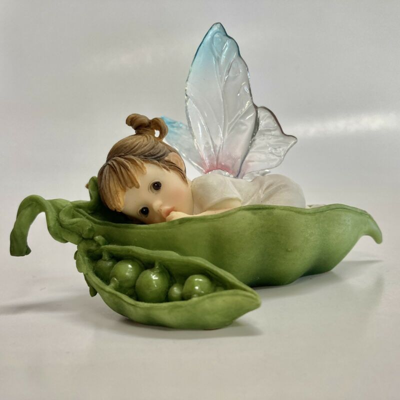 2001Enesco My Little Kitchen Fairies My Little Sweet Pea Fairie Figurine 102542