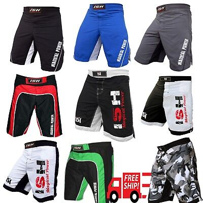 Ufc Shorts (Kick Boxing MMA Shorts UFC Cage Fight Fighter Grappling Muay Thai Men's)
