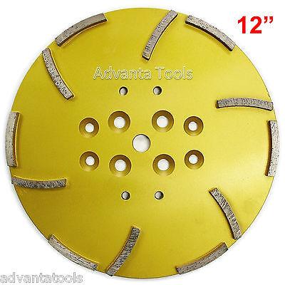 12 Concrete Grinding Head For Floor Grinders - 12 Segments