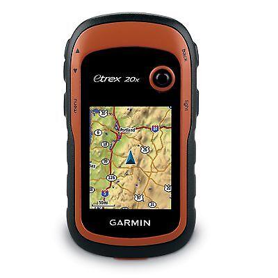 Garmin Etrex 20X Handheld Gps W  Color Screen And 3 7Gb Of Memory 010 01508 00