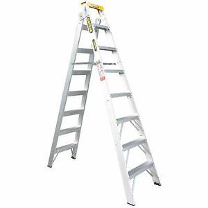 Gorilla 2.4-4.5m 150kg Aluminium Dual Purpose Double Sided Ladder Glen Waverley Monash Area Preview
