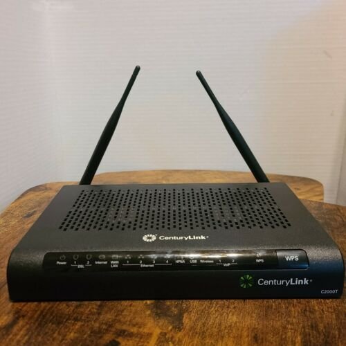 CenturyLink Technicolor DSL C2000T 802.11n Router/Modem Combo wo Power Adapter