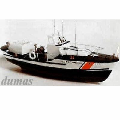 Dumas DU1203 U. S. Coast Guard 44´ Bote Salvavidas Madera Construcción Longitud