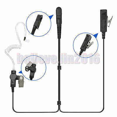 2-Wire Headset Earpiece Mic For MOTOROLA XPR3300 XPR3500 XPR3300E XPR3500E Radio