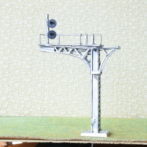 1 x HO OO block searchlight cantilever signal bridge tricolors track metal #23