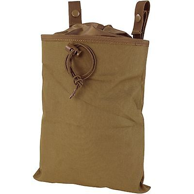 Condor MA22-498 Tactical MOLLE Magazine Mag Drop Dump Pouch Holster Coyote Brown