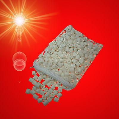 🍀 TONRÖHRCHEN 🍀 Filterkeramik Aquarium Zubehör Aussenfilter Filtermaterial (VO ()