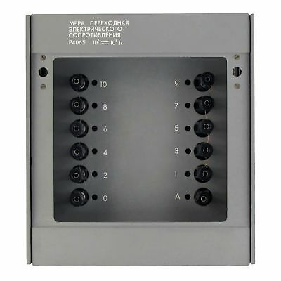 0 1 10 100mohm  0.002 Resistance Standard Box Resistor Calibrator 4065