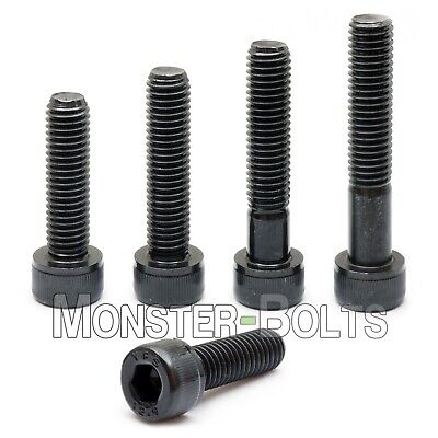 M6 Socket Head Cap Screws 12.9 Alloy Steel W Black Oxide Din 912 1.0 Coarse