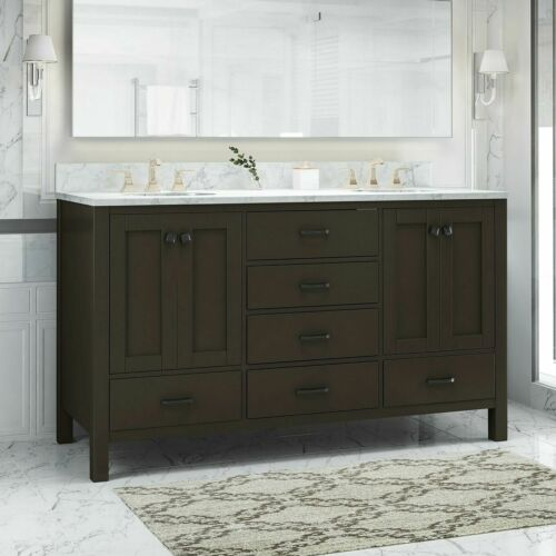Laranne Contemporary 60″ Wood Bathroom Vanity (Counter Top Not Included) Bath