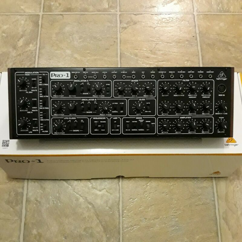 Behringer PRO1 Analog Synthesizer Pro-1 Synth NEW IN OPEN BOX