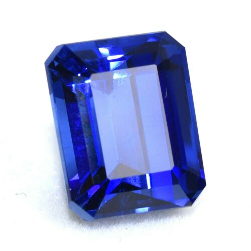 Natural 11.10 Ct Unheated Ceylon Blue Sapphire Certified Loose Gemstones