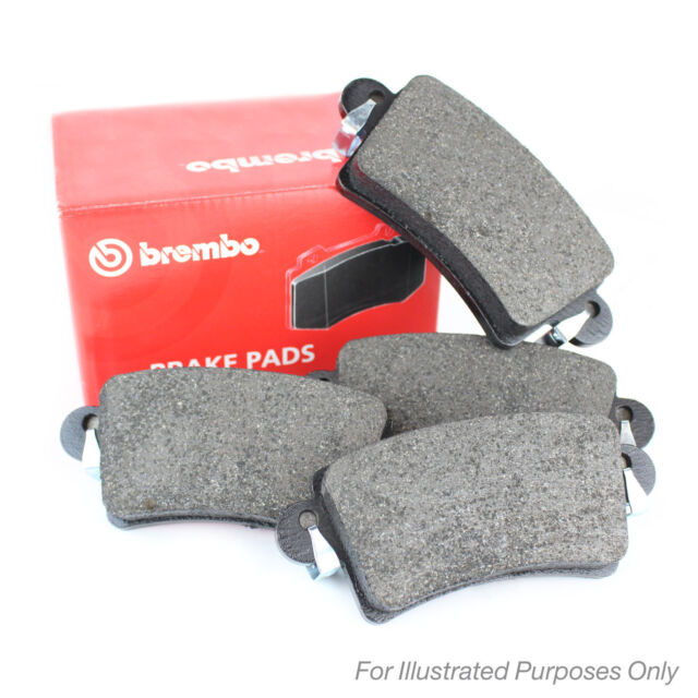 19mm Thick Brembo Front Brake Pads Genuine OE Quality Braking Service Part