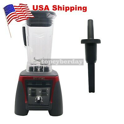 Bpa Free 3hp 2200w Heavy Duty Commercial Blender Mixer Power Juicer 110v Red Us