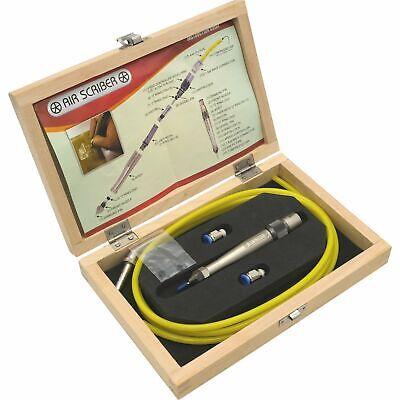 Pneumatic Air Scribe Engraving Pen w/ Chisel Tip Engraver Penumatic Tip Pen