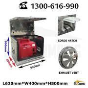 Hot ! Aluminium Generator Ventilated L620*W400*H500 Aus Stock Clayton South Kingston Area Preview