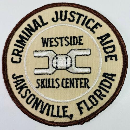 Jacksonville Criminal Justice Aide Westside Skills Center Florida FL Patch (A5)