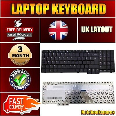 REPLACEMENT FOR ACER 8920 8930 8930G 8920G SERIES LAPTOP KEYBOARD BLACK
