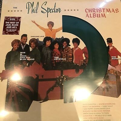 Phil Spector - A Christmas Gift For You - 2018 Green Vinyl Album / lp - New