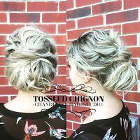 Few spots left this fall -wedding hair