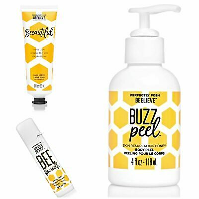 Perfectly Posh Mothers Day Bundle with Bee Yourself, Beeautiful and Buzz Peel for sale  Moses Lake