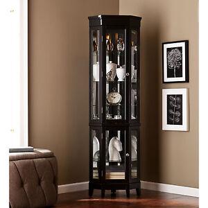 Corner Curio Cabinet | eBay