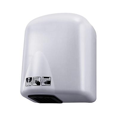 Asciugamani elettrico hotel automatico aria calda fotocellula bianco a parete