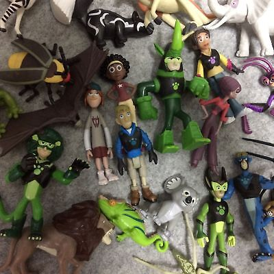 10 Piece Wild Kratts Collection Action Figure Loose Toy Send Random