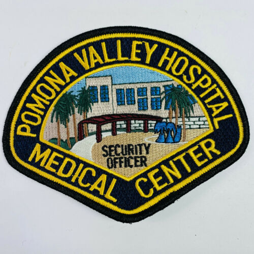 Pomona Valley Hospital Medical Center Security Officer California CA Patch (A8)