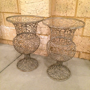 Two designer urns Canning Vale Canning Area Preview