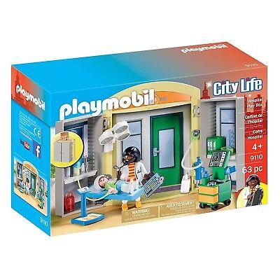 Playmobil Hospital Play Box Building Set 9110 NEW Toys Kids