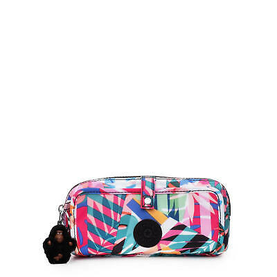 Kipling Wolfe Printed Pencil Pouch