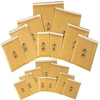 170 x 245 Bubble Wrap Bags Padded Mailing Parcel Courier Jiffy Envelopes Set 400