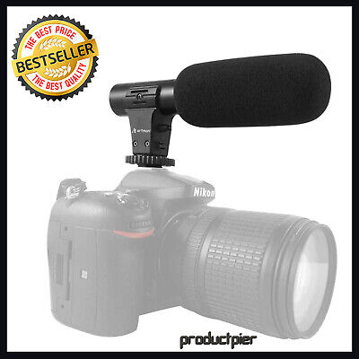 Best 3.5mm External Stereo  Microphone For DSLR Video Cameras GoPro Hero