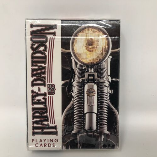 VTG NIP Harley Davidson Made in USA Playing Card Deck Pack Collector HD Poker