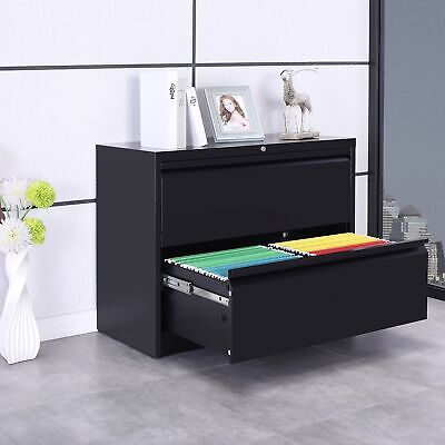 Filing Cabinet Heavy-duty Lateral File Storage Cabinet Wdrawers
