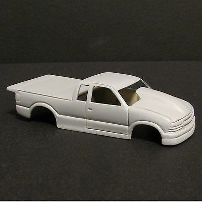 JF HO PMT S10 Pro Mod Truck Resin Slot Car Body - Fits 4 Gear -  #29
