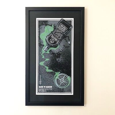 Official artist signed & numbered // Sold out // Marilyn Manson gig poster