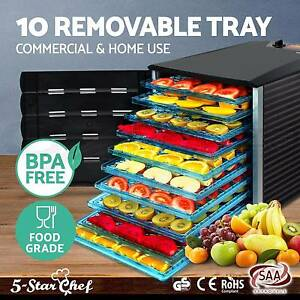 10 Food Dehydrator Commercial Preserve Yogurt Fruit Dryer Jerky Perth Perth City Area Preview