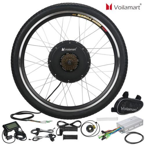 48V 1000W Electric Bicycle EBike Rear Cycling Wheel Conversi