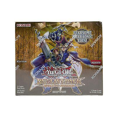 KONAMI YU-GI-OH RIVALS OF THE PHARAOH BOOSTER BOX -