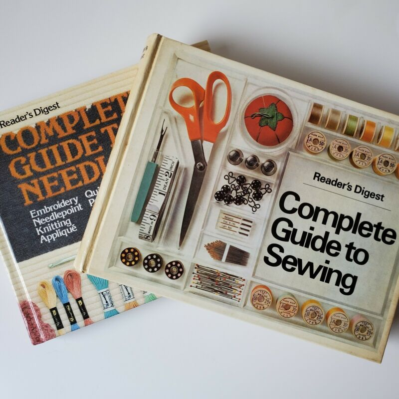 Readers Digest 1976 Complete Guide to Sewing & Needlework How Vintage Tailoring