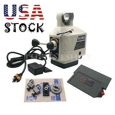 110v Power Feed Feeder For Vertical Milling Machine X Y Axis Alb-310sx Us Ship