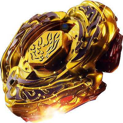 Toy Armor (L-Drago Destructor (Destroy) GOLD Armored Metal Fury 4D Beyblade - USA)