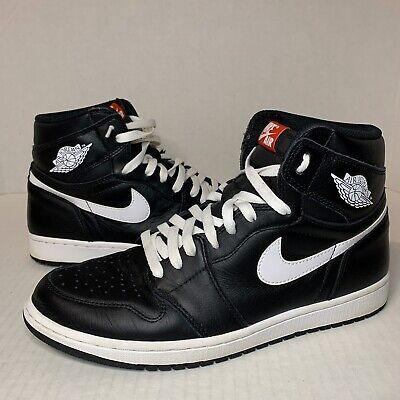Air Jordan 1 Retro Yin Yang Black Men's Size 10.5 555088-011