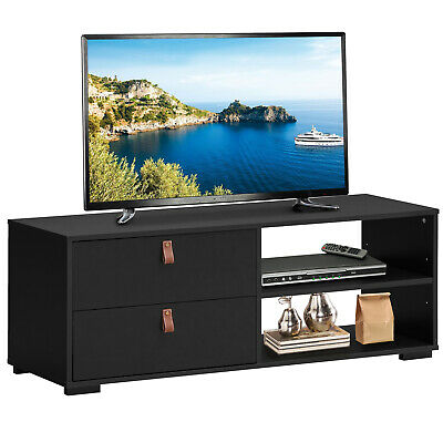 TV Stand Entertainment Media Center Console for TV's up to 5