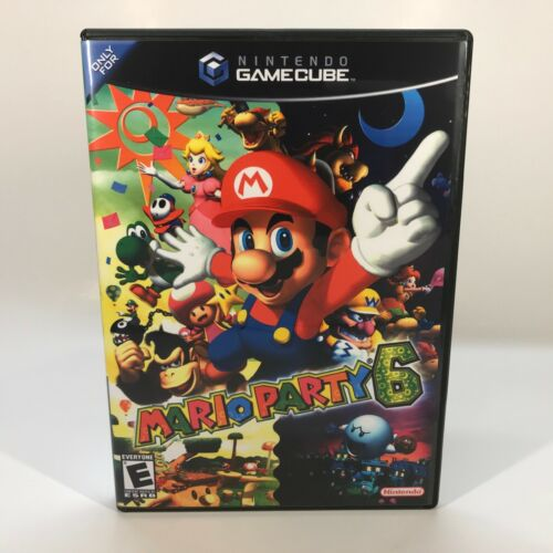 GameCube Replacement Case - Case Only NO GAME - Mario Party 6