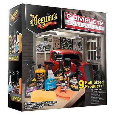 Meguiar's Complete Car Care Gift Kit