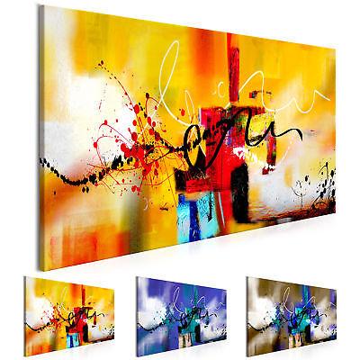 Moderne Kunst abstrakte Bilder auf Leinwand Bilder xxl Kunstdruck a-A-0323-b-b ()